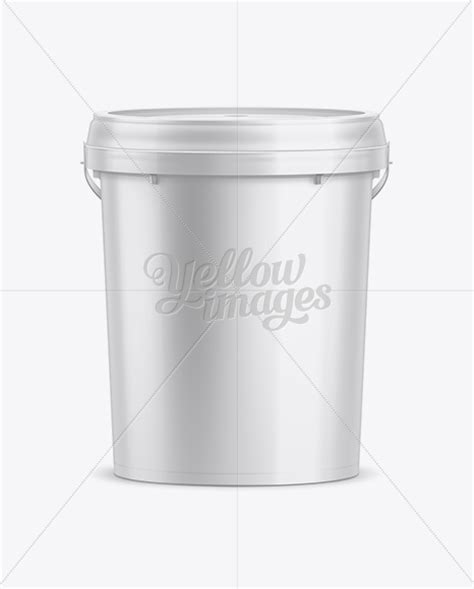 A fully layered pdf file with smart objects, the dimensions are 3500 x 3000 px at 300 dpi. 20L Plastic Paint Bucket Mockup in Bucket & Pail Mockups ...