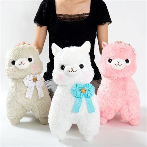 alpacasso girly alpaca plush collection big tokyo