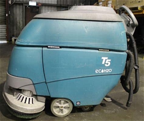 tennant floor scrubbers t5 tennant t5 eco h20 walk type floor scrubber auction