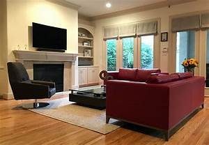 Contemporary, Living, Room, La, Roux, Sofa, La, Roux, Living, Chair