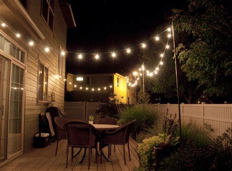 string lights over patio bright july diy outdoor string lights
