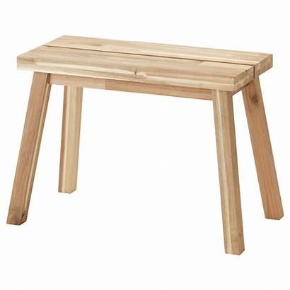 Ikea Skogsta Acacia Bench Bank