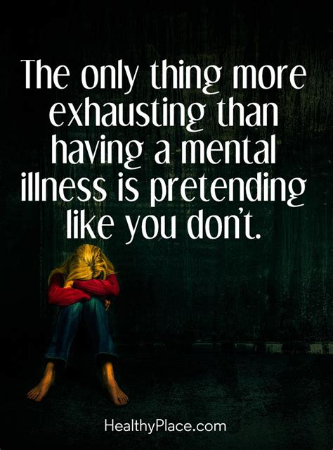 Illness Mental Health Quotes