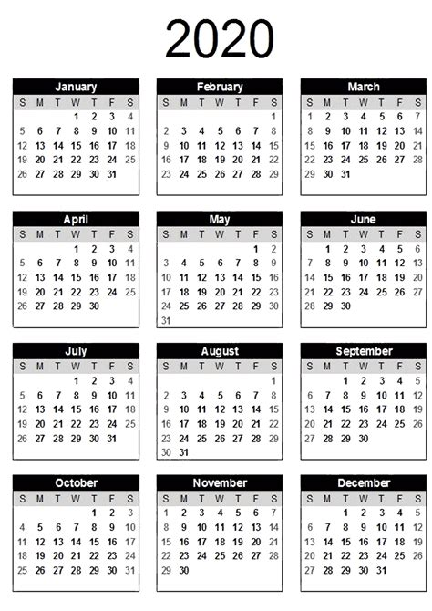 Welcome back wiki calendar family! Yearly Calendar With Notes 2020 PDF - 2019 Calendars for Students Education Yearly Calendar With ...