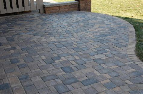 raised paver patios and walks