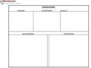 Kaizen Before and After Template