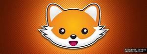 Cute Cartoon Fox Face