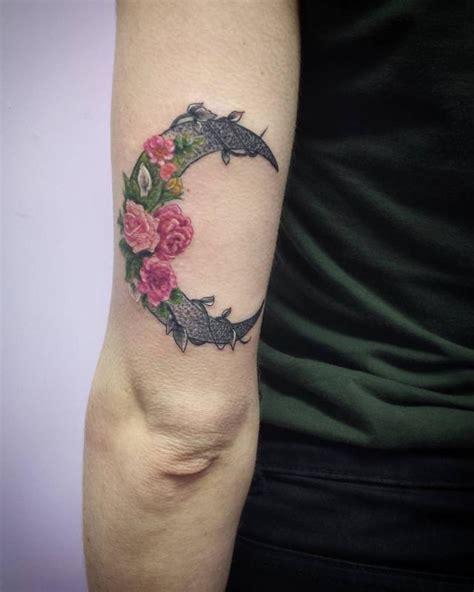 mystic eye tattoo tattoos linn crescent rose moon tattoo