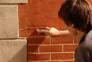 Comment Faire Enduit Imitation Pierre : comment r aliser un enduit color simple sur un mur ~ Melissatoandfro.com Idées de Décoration