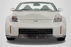 Nissan 350z Avis : 06 08 fits nissan 350z mz carbon fiber front bumper lip body kit 113455 ebay ~ Melissatoandfro.com Idées de Décoration
