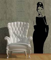great audrey hepburn wall decals Great Audrey Hepburn Wall Decals - Home Design #931
