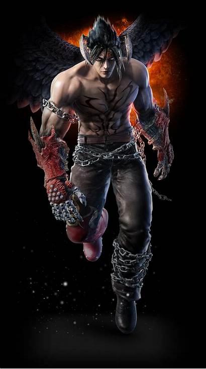 Jin Tekken Devil Kazama Wallpapers Evil Ryu