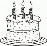 Cake Coloring Birthday Cakes Printable Ausmalbilder Geburtstagskuchen Kuchen Colorare Happy Torta Blank Template Templates Cupcake Mewarnai Sheets Kue Gambar Konabeun sketch template