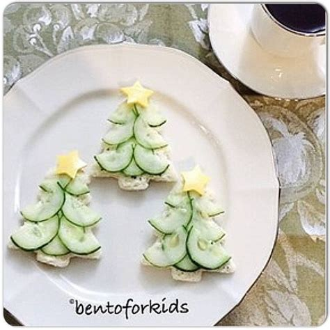 cream cheese cucumber sandwiches christmas delights