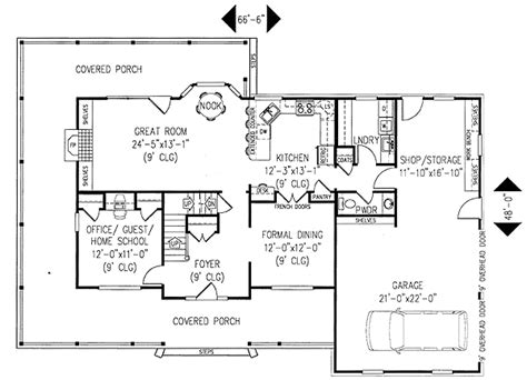 floor plans with wrap around porch architectural designs