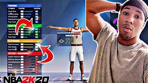Nba 2k20 Official Myplayer Build Best Playmaking Shot