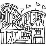 Coloring Amusement Printable Getcolorings sketch template
