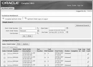 Oracle Complex Maintenance  Repair  And Overhaul User U0026 39 S Guide