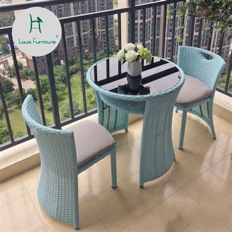 louis fashion garden sets outdoor chairs balcony tea table