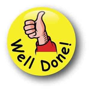 Well Done Images Well Done School Pin Badge Pack Of 10 Ebay