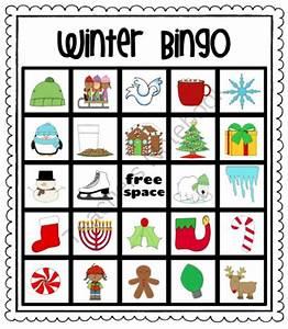 Winter Christmas Bingo from Pioneer Teacher on