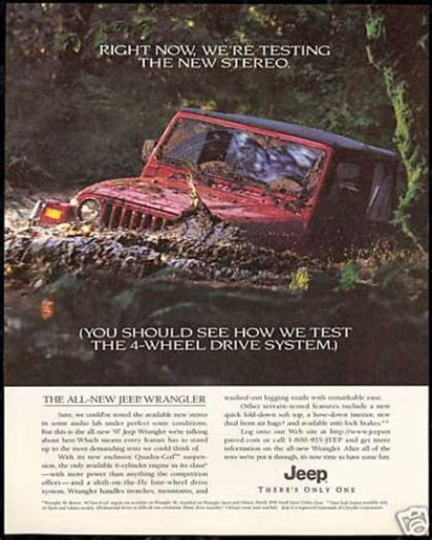 jeep wrangler ads looking for a poster for the office jeep