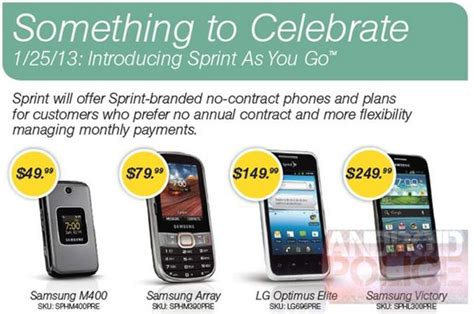 sprint prepaid phones sprint to roll out pre paid plans on january 25th with