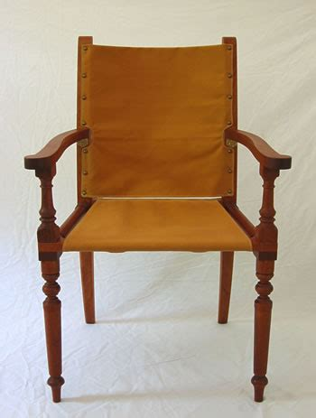 wood british campaign chair  plans