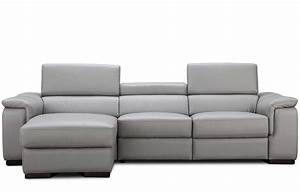 italian leather power recliner sectional sofa nj alda With sectional sofa nj