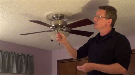 ceiling fan wobble safe ceiling fan wobble