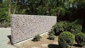 Mur De Soutenement En Gabion : mur en gabion sez l 39 int grer dans votre propre jardin ~ Melissatoandfro.com Idées de Décoration