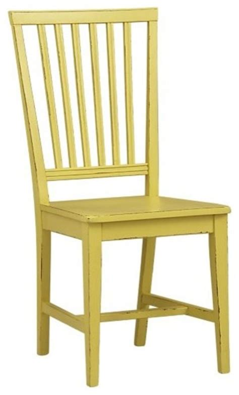 citronella yellow side chair crate barrel