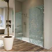 Decorative Floral Glass Shower Door Glass Enclosures WALL PAPER DECORATIVE SHOWER GLASS ENCLOSURE BY