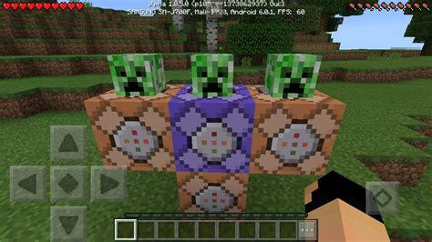 command block creations  minecraft pocket edition  youtube