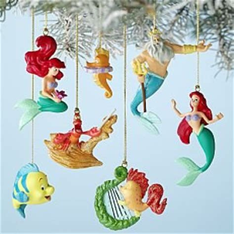 little mermaid christmas ornament disney s mermaid ornaments