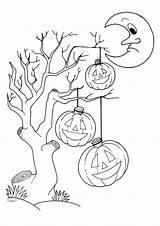 Colorare Disegni Halloween Stampare Bambini Gratis Immagini Ritagliare Disegno Coloring Disney Zucca Maschere Scaricare Stampa Bing Mostro Casa Zombies Case sketch template