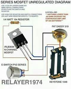 Single 18650 Box Mod Wiring Diagram With Mos Fet