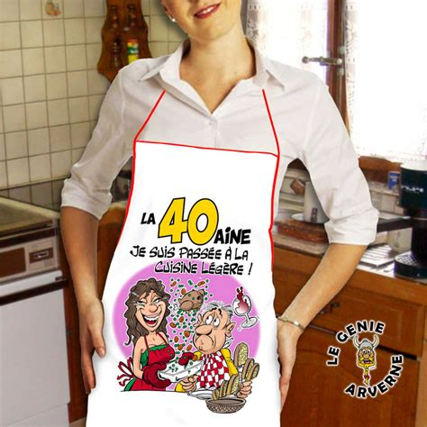 cuisine drole tablier de cuisine femme 40 aine