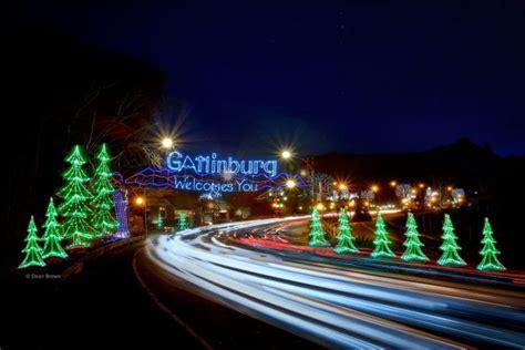 Gatlinburg Lights by Gatlinburg Gatlinburg Trolley Ride Of Lights The Smoky