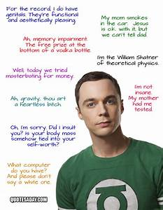 sheldon cooper quotes - Dump A Day