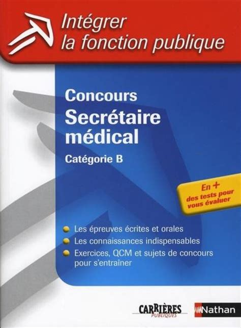 secr 233 taire m 233 dicale concours ziloo fr