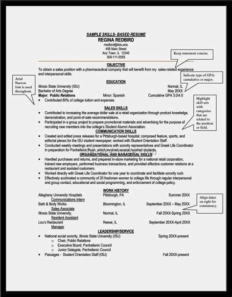 15671 skill based resume exles skills based cv exle resume template cover letter