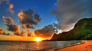 Beautiful Beach Sunset HD Wallpapers.