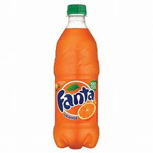 Fanta Orange 20 oz Plastic Bottles - Pack of 24