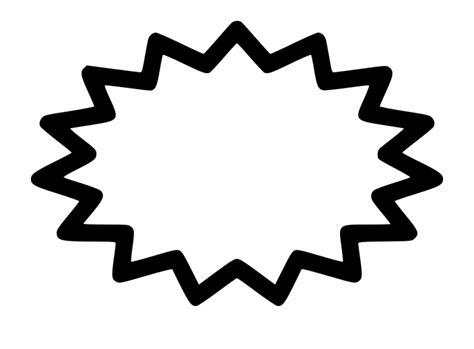 png file svg printable starburst template transparent