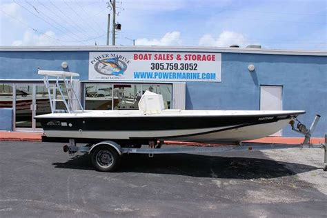 Eagle Flats Boats by Eagle 20 Pro Series Flats Boat Rigged For A Yamaha O B