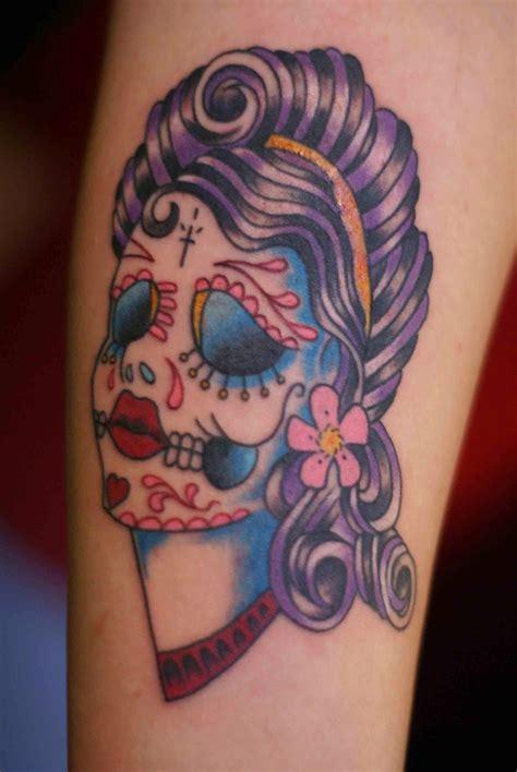 Tattooz Designs Sugar Skull Tattoo Meaning