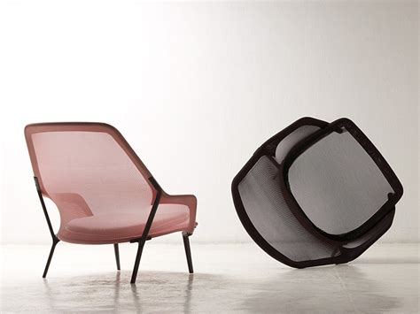 Poltrona In Tessuto Slow Chair By Vitra Design Ronan
