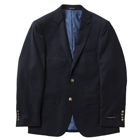 fog s taylored fit sport coat single breasted two button wool ebay