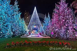 Christmas Decorations In Monaco Montecarlo France
